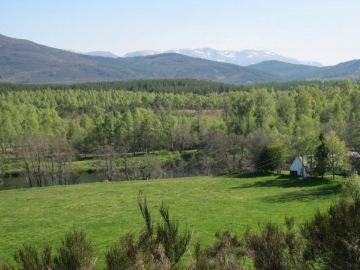 View of Cairngorms